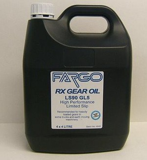 Order FARGO GEAR OIL LS90 LIMITED SLIP 4L online from ADL